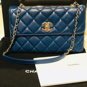 Chanel Lambskin Trendy Flap Bag